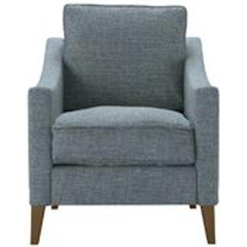 Iggy Armchair In Hydrangea Highland Tweed