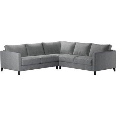 Izzy Small Corner Sofa In Thatch Smart Velvet