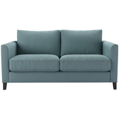 Izzy 2 Seat Sofa In Lagoon Brushed Linen Cotton