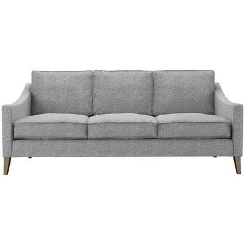 Iggy 3 Seat Sofa (Breaks Down) In Ash Soft Wool