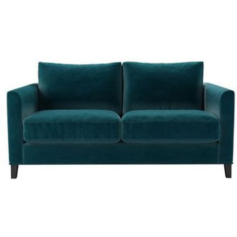 Izzy 2 Seat Sofa (Breaks Down) In Deep Turquoise Cot...