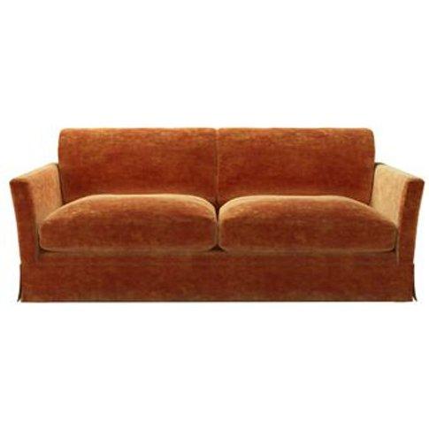 Otto 3 Seat Sofa In Ganges Roosevelt Velvet