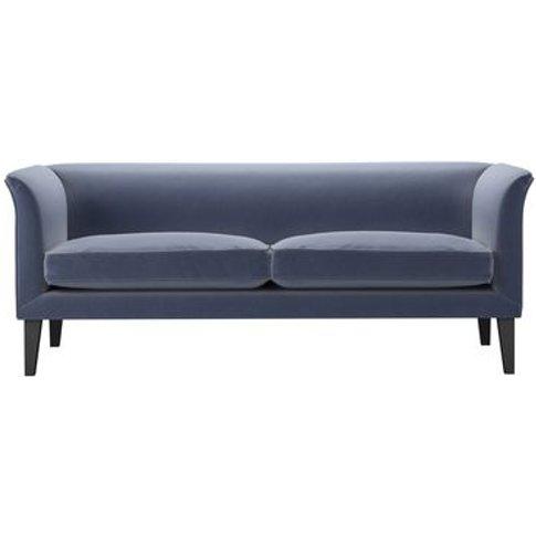 Fingal 2.5 Seat Sofa In Sapphire Smart Velvet