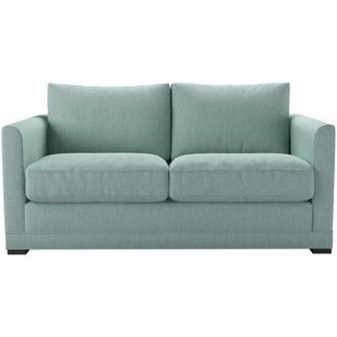 Aissa 2 Seat Sofa In Cambridge Blue Pure Belgian Linen