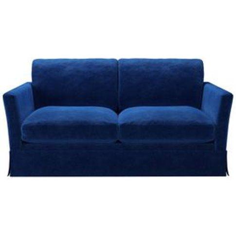 Otto 2 Seat Sofa Bed In Cobalt Smart Velvet