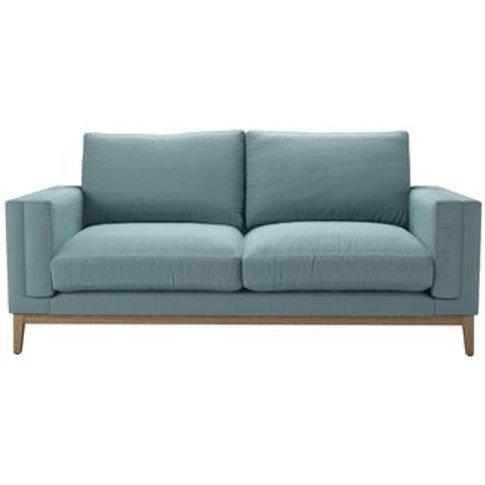 Costello (Plinth) 2.5 Seat Sofa In Lagoon Brushed Li...