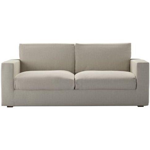 Stella 3 Seat Sofa (Breaks Down) In Canvas Pure Belg...