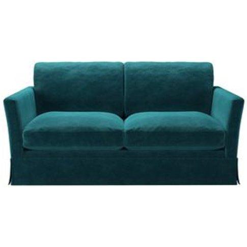 Otto 2 Seat Sofa Bed In Neptune Smart Velvet