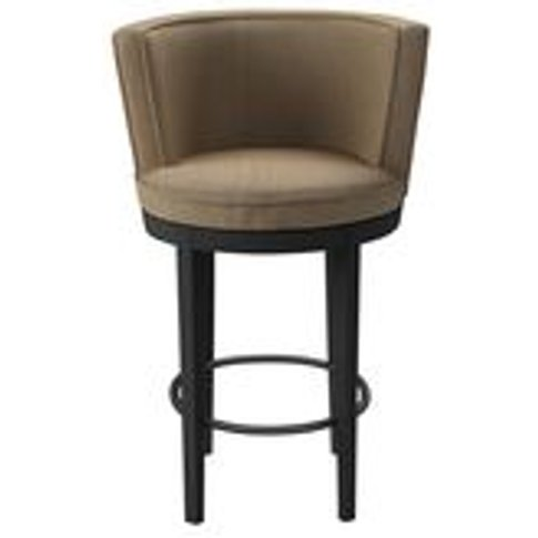 Margaux Bar Stool In Flax Pure Belgian Linen