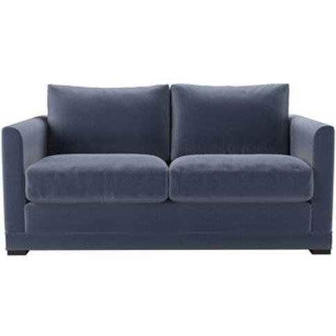 Aissa 2 Seat Sofa In Sapphire Smart Velvet