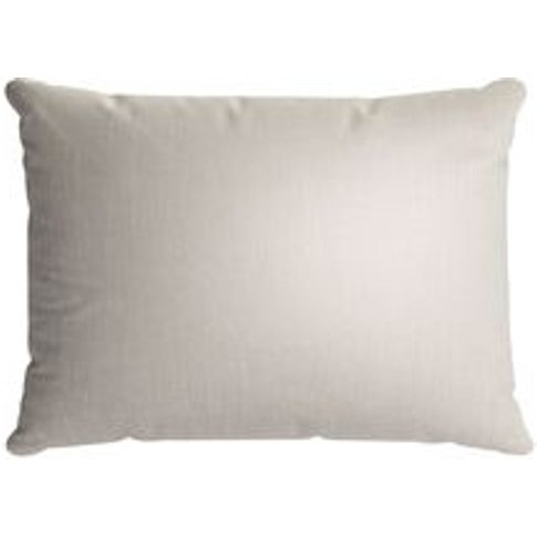 38x55cm Scatter Cushion In Canvas Pure Belgian Linen