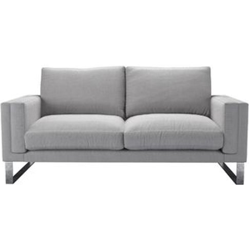 Costello 2.5 Seat Sofa In Cobble Brushed Linen Cotton