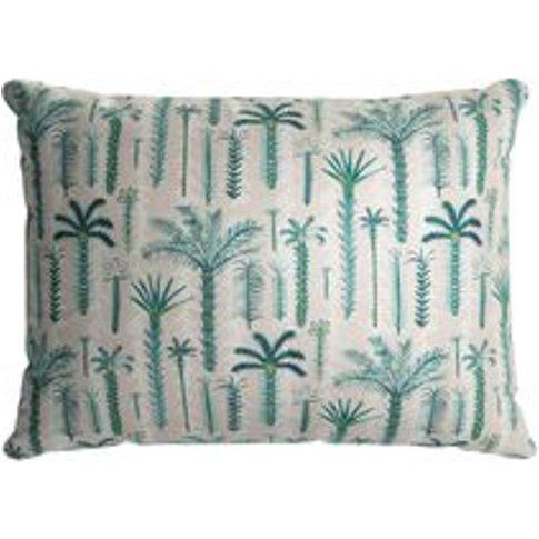38x55cm Scatter Cushion In Dawn Lucy Tiffney Palm Tree