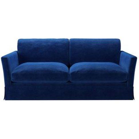 Otto 2.5 Seat Sofa In Cobalt Smart Velvet