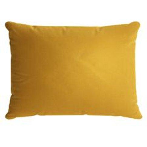 38x55cm Scatter Cushion In Butterscotch Cotton Matt ...