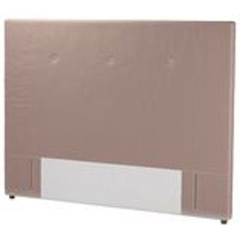 Standalone Avery 130cm Super King Headboard In Orchi...