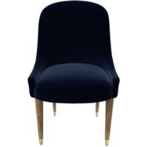 Arabella Dining Chair In Admiral Smart Cotton