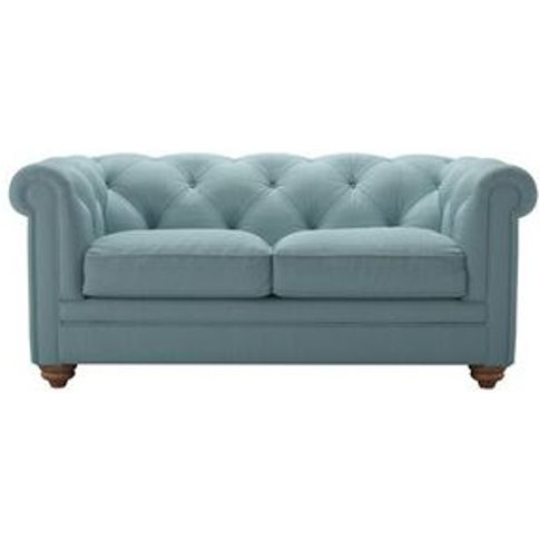 Patrick 2 Seat Sofa In Lagoon Brushed Linen Cotton