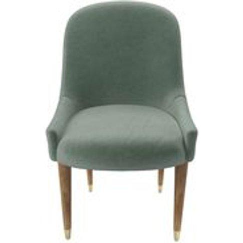 Arabella Dining Chair In Sage Smart Velvet