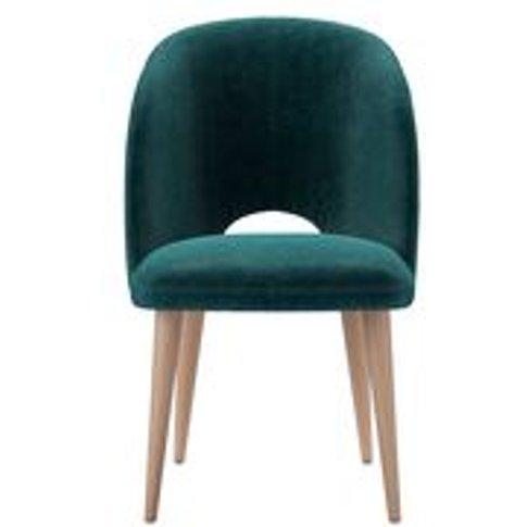 Darcy Dining Chair In Jade Smart Velvet