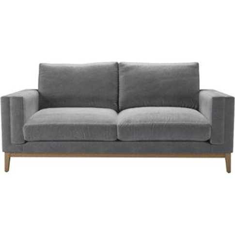 Costello (Plinth) 2.5 Seat Sofa In Thatch Smart Velvet