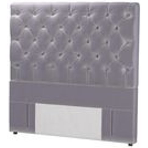 Standalone Rosalie 130cm Double Headboard In Chicory...