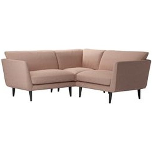 Holly Extra Small Corner Sofa in Blush Pure Belgian ...