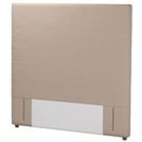Standalone Harlow 130cm Double Headboard In Mouse Sm...