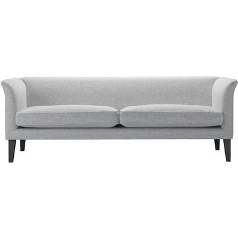 Fingal 3 Seat Sofa In Frost Highland Tweed