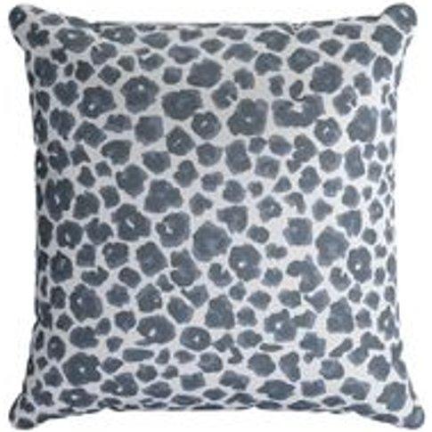45x45cm Scatter Cushion In Hippo Jungle Cat