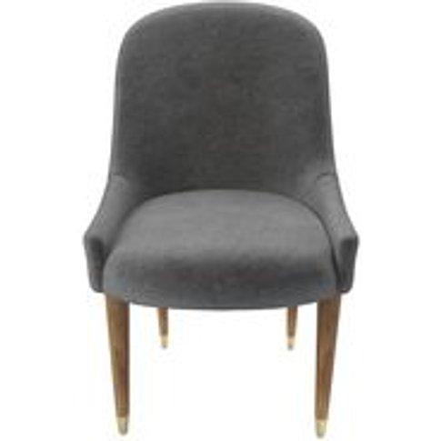 Arabella Dining Chair In Earl Grey Smart Velvet