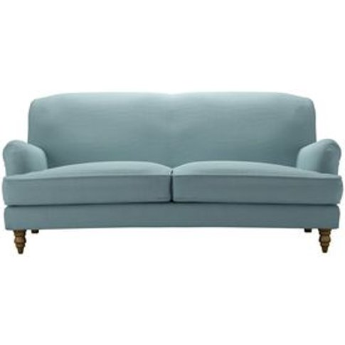 Snowdrop 3 Seat Sofa (Breaks Down) In Lagoon Brushed...