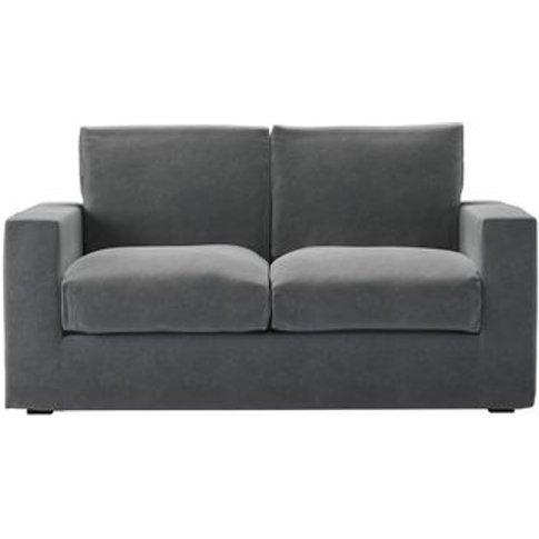 Stella 2 Seat Sofa Bed In Thatch Smart Velvet