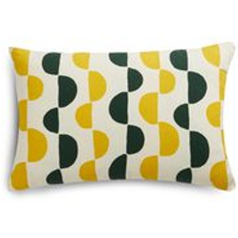 38x55cm Scatter Cushion In Yolk Gail Bryson Twist