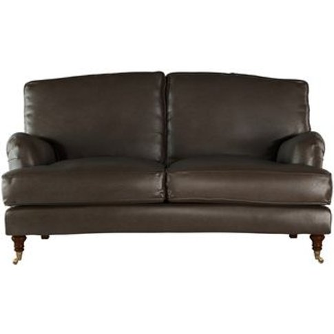 Bluebell 2 Seat Sofa (Breaks Down) In Espresso Bellwether Leather