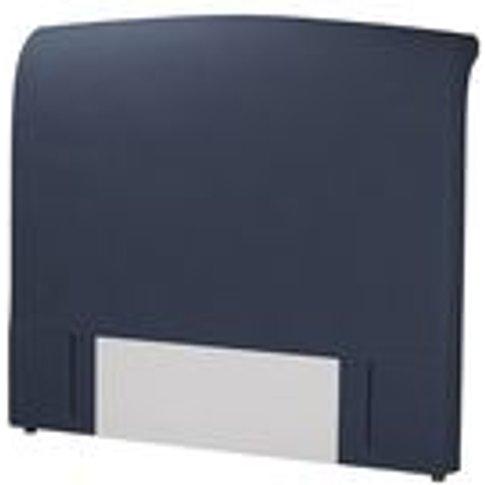Standalone Thea King Headboard In Mercury Smart Linen