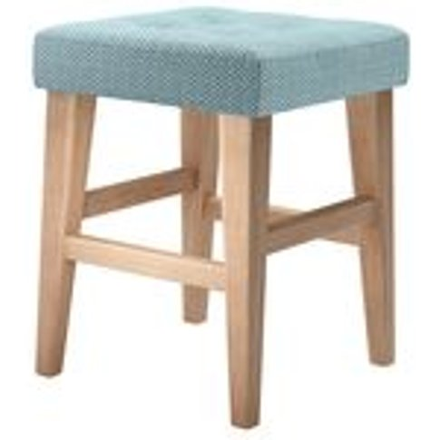 Buttons Short Stool in Forget Me Not Tori Murphy Cla...