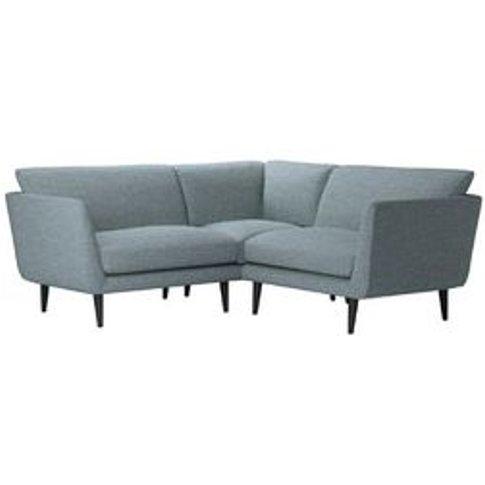 Holly Extra Small Corner Sofa In Hydrangea Highland Tweed