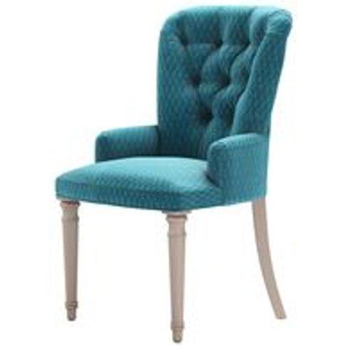 Sinclair Dining Chair In Capri Velvet Jacquard