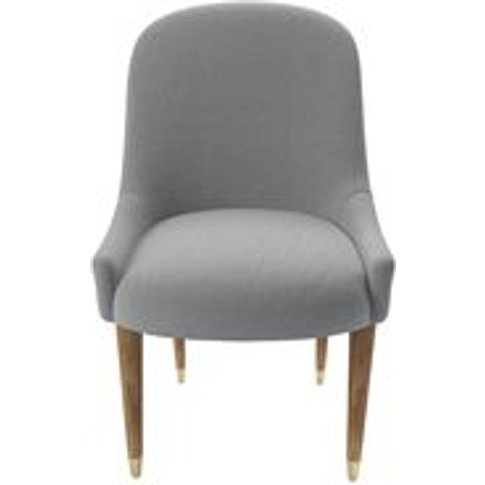 Arabella Dining Chair In Pumice House Plain Weave
