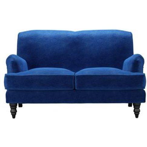 Snowdrop 2 Seat Sofa (Breaks Down) In Cobalt Smart V...