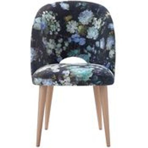 Darcy Dining Chair In Periwinkle Chelsea Bloom