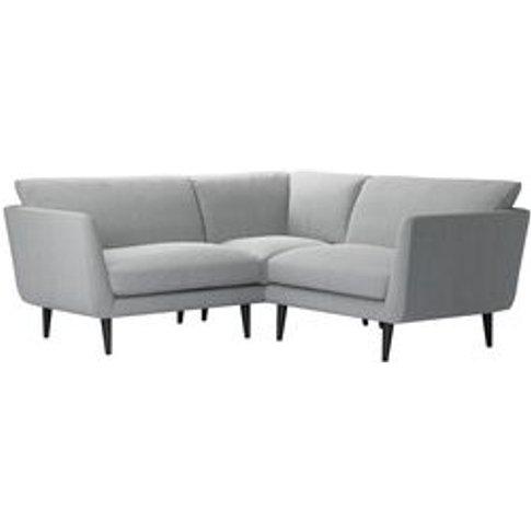 Holly Extra Small Corner Sofa In Beluga Chenille