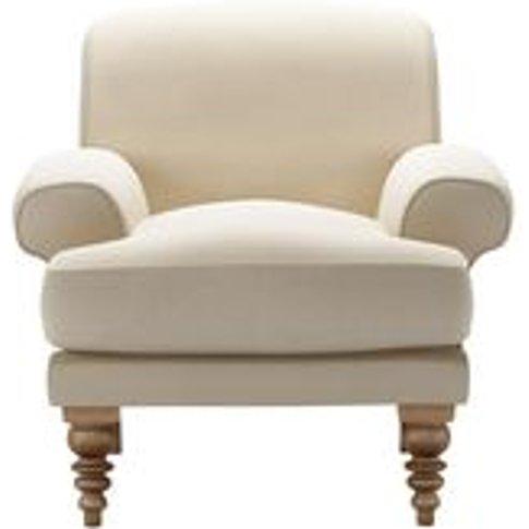 Saturday Armchair In Moon Smart Cotton