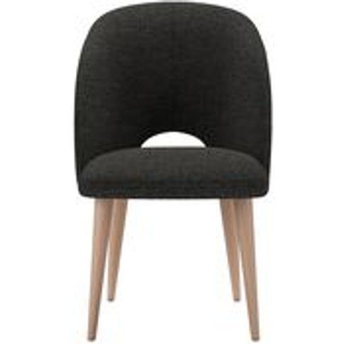 Darcy Dining Chair In Slate Highland Tweed