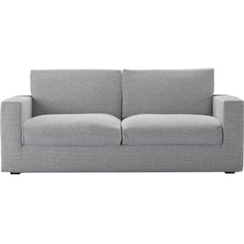 Stella 3 Seat Sofa (Breaks Down) In Frost Highland T...