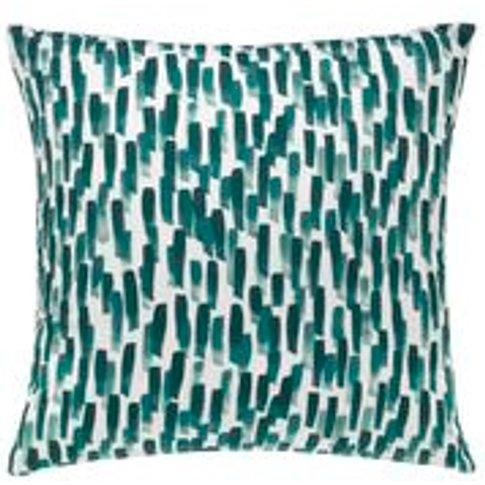 45x45cm Scatter Cushion In Meadow Filbert