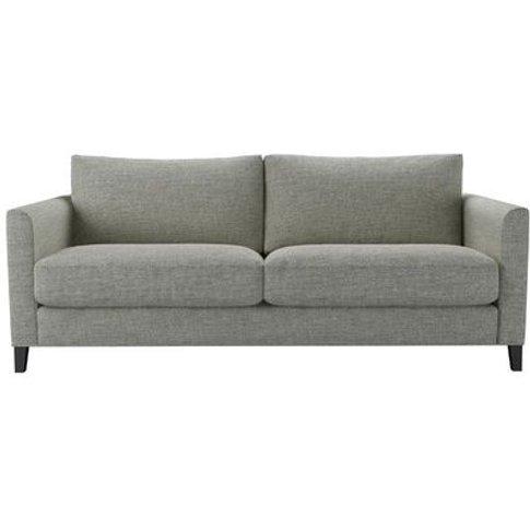 Izzy 3 Seat Sofa In Grey Marl Highland Tweed