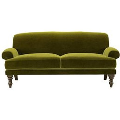 Saturday 2.5 Seat Sofa (Breaks Down) In Olive Cotton...