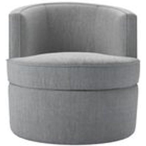 Monroe Armchair In Goodwin Grey Sandgate